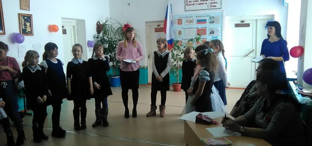 Конкурсная программа «Классные девчонки»